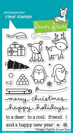 Toboggan Together Stamp Set