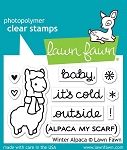 Winter Alpaca Stamp Set