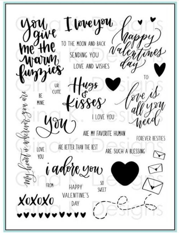 Love is All You Need Stamp Set