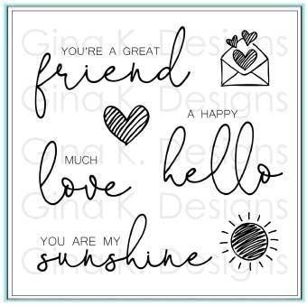 Lovely Words Stamp Set