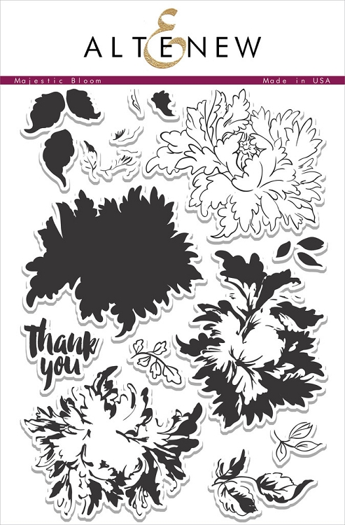 Majestic Blooms Stamp Set