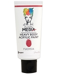 Dina Wakley Media Paint - Fuchsia