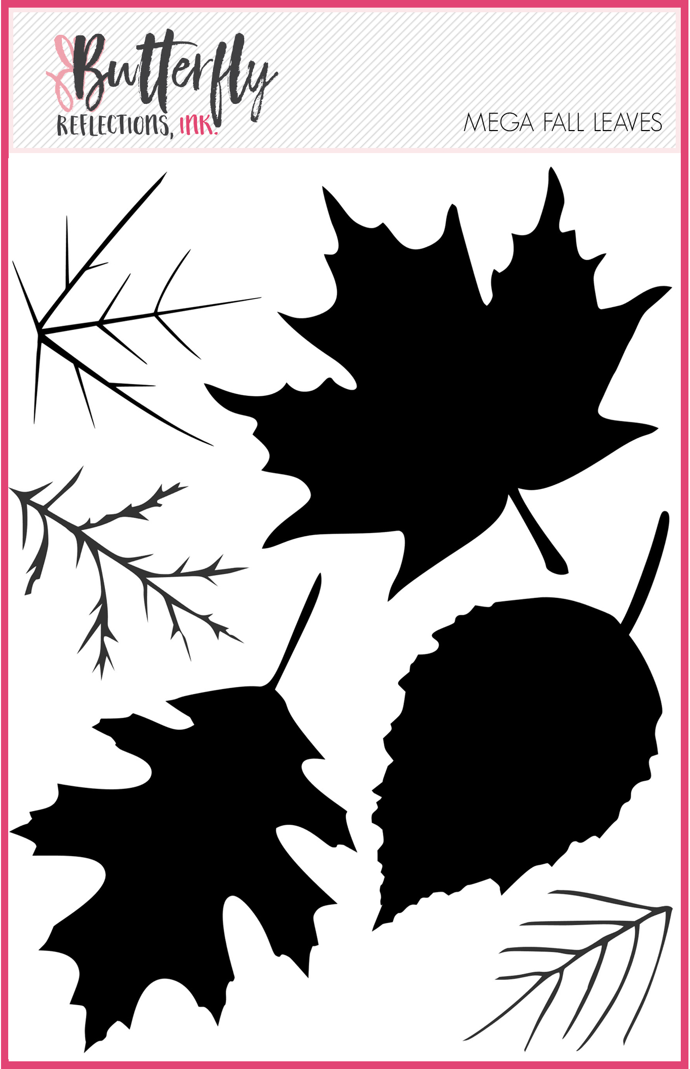 Mega Fall Leaves Stamp Set