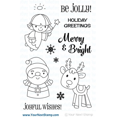 Merry and Bright Stamp Set