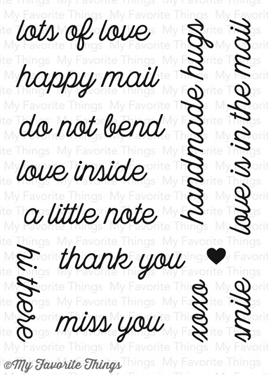 Love Is in the Mail Stamp Set