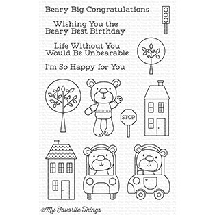 Town Bear Stamp Set