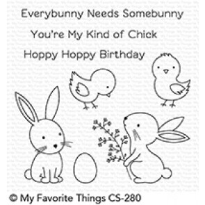 Hoppy Friends Stamp Set