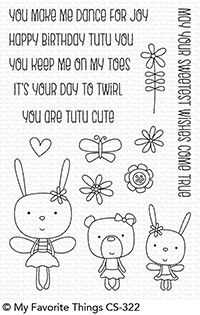 Tutu Trio Stamp Set