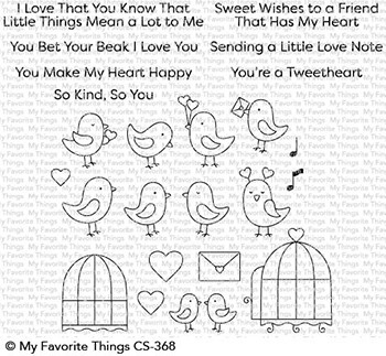 Tweethearts Stamp Set