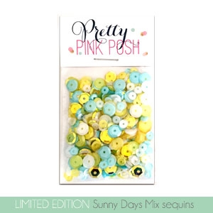 Sunny Days Sequins Mix