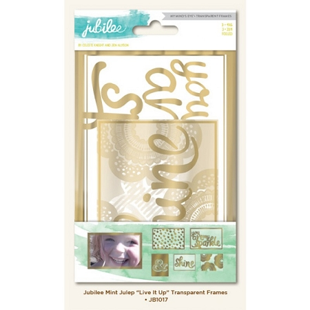 Jubilee Live It Up Transparent Frames
