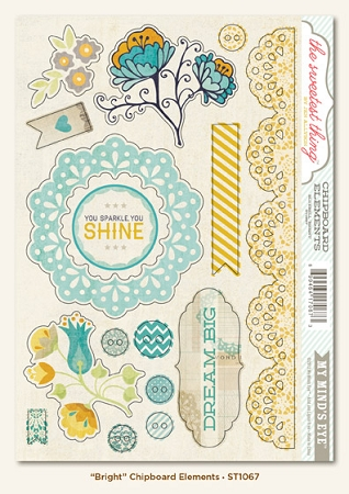 Bluebell Bright Stickers Shapes