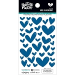 Mrs. Blueberry Enamel Hearts