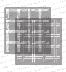 Plaid Stencil Set
