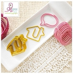 House/Speech Bubble Paper Clips