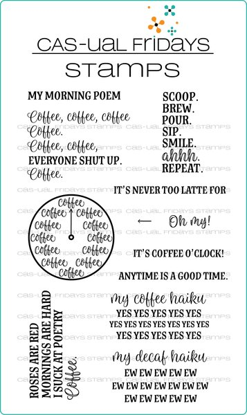 Time for Coffee Stamp Set