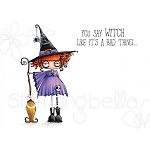 Oddball Witch Stamp