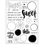 Orange You Sweet Stamp Set