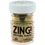 Zing! Embossing Powder Glitter Gold