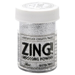 Zing! Embossing Powder Glitter Silver