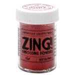 Zing! Embossing Powder Glitter Red