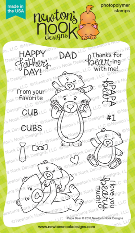 Papa Bear Stamp Set