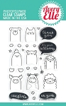 Peek-A-Boo Pets Stamp Set