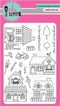Pink Avenue Stamp Set