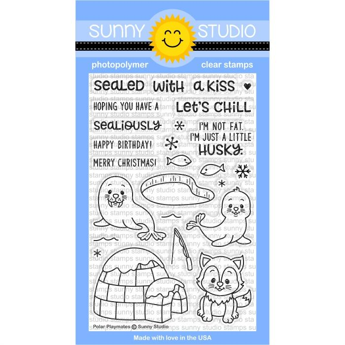 Polar Playmates Stamp Set