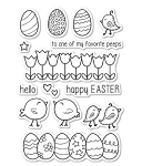 Easter Chicks Stamp Set