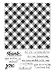 Picnic Plaid Stamp Set