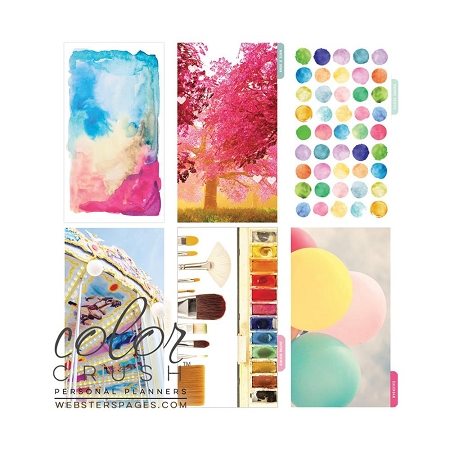 Color Crush Planner Dividers - Positive Thoughts