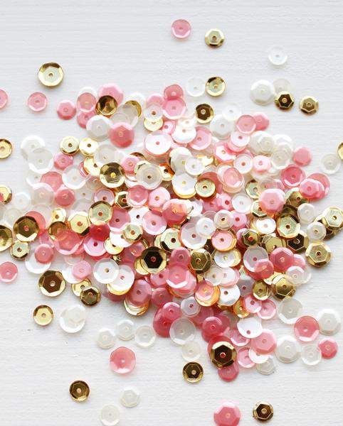 Pretty in Pink Sequin Mix