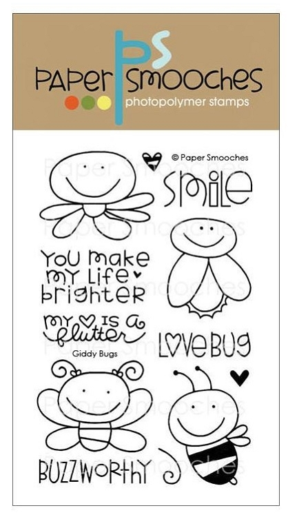 Giddy Bugs Stamp Set