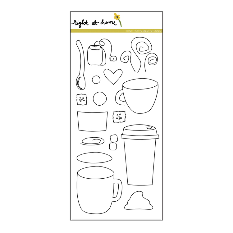 Cup of Joy Stamp Set