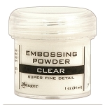 Embossing Powder Super Fine Clear