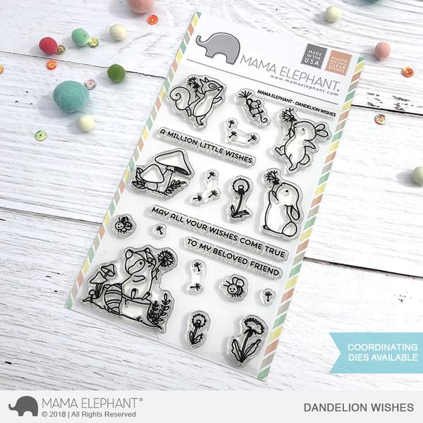 Dandelion Wishes Stamp Set