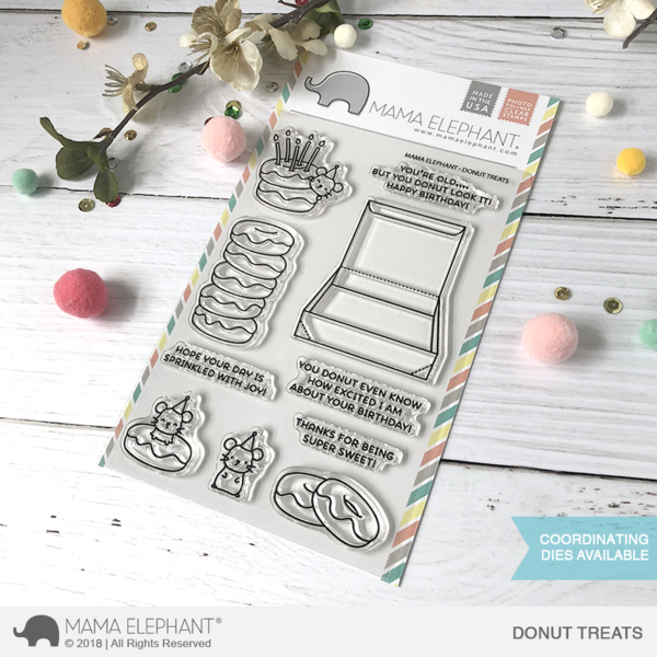 Donut Treats Stamp Set