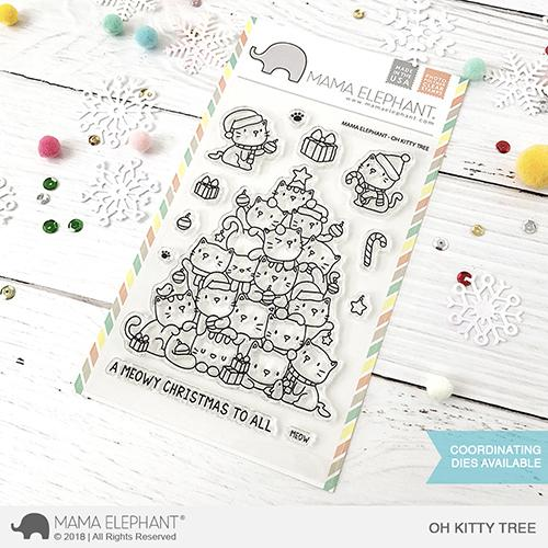 Oh Kitty Tree Stamp Set