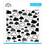 Cloudy Day Pattern Stamp Set