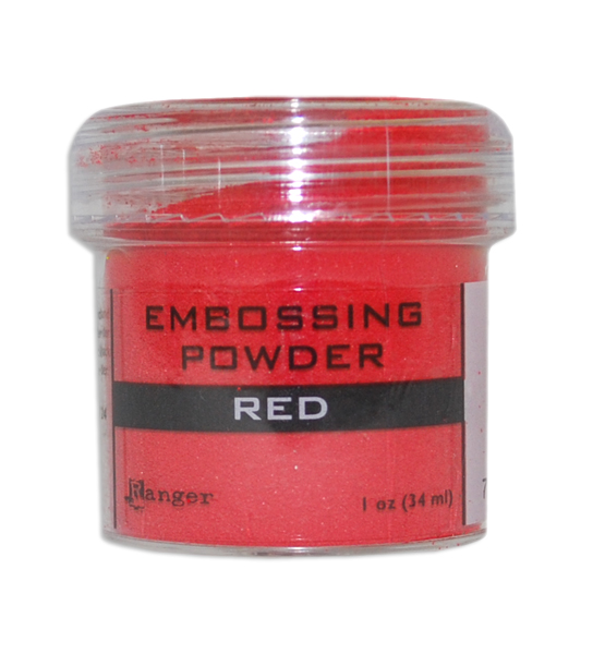 Red Embossing Powder