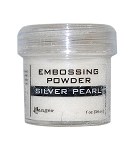 Silver Pearl Embossing Powder