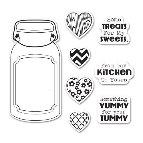Jar of Treats Stamp & Die