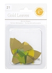 Lemon Lush Leaves Gold