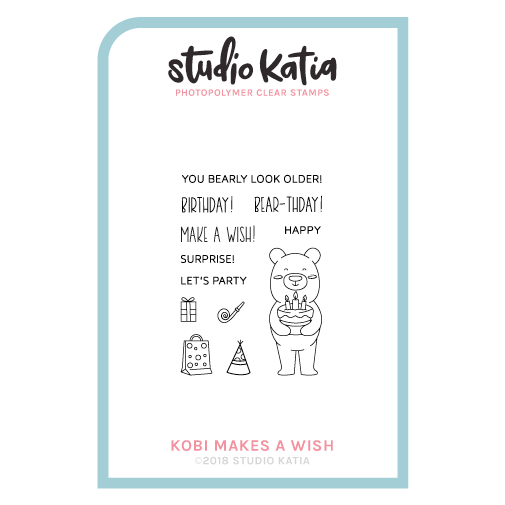 Kobi Makes A Wish Stamp Set