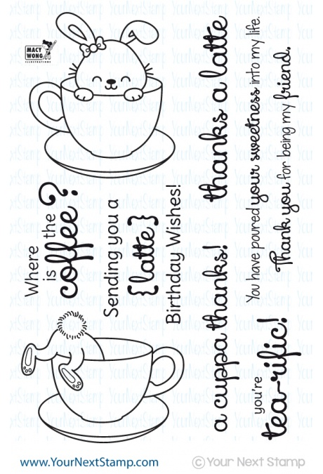 Sprinkles Coffee and Tea Stamp Set