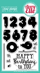 Numbered Balloons Stamp Set