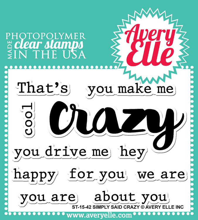 Simply Said: Crazy Stamp Set