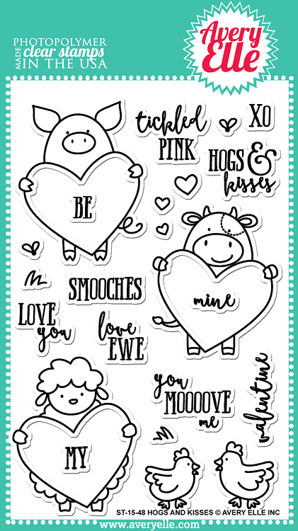 Hogs and Kisses Stamp Set