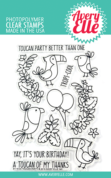 Toucan Party Stamp Set